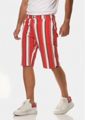 Red mixed stripes